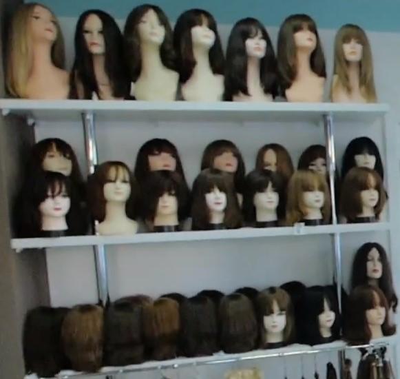 большой выбор париков