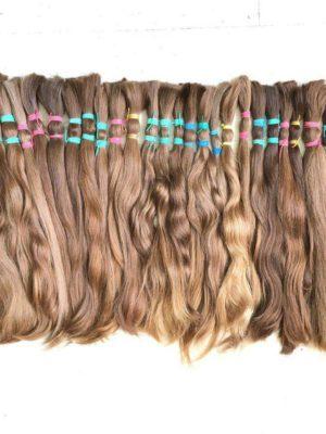Славянские волосы в срезах