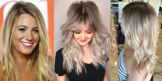 цвет волос грязный блонд