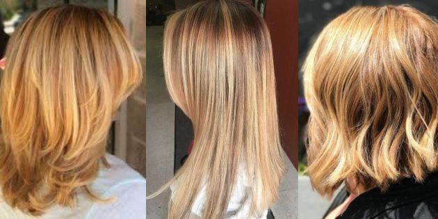 цвет волос мёда